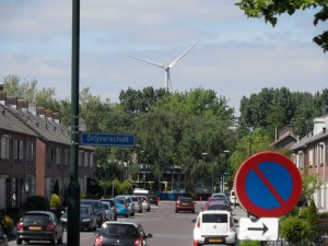 Windmolen Boven-Hardinxveld, juni 2013