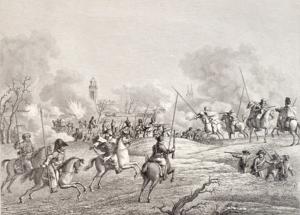 Kozakken bij Deventer